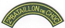 Titre de bras 2° BATAILLON DE CHOC - REPRO