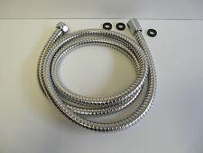 Manguera de ducha metal cromo, flexible metálico, mano, 1,40 -1 , 50