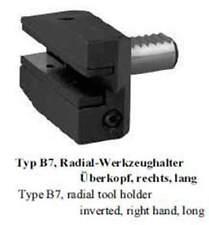 VDI Typ B7 Radial Werkzeughalter, Überkopf,rechts, lang /  toolholder inverted,r