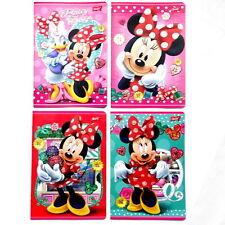 Disney Minnie Handwritting Exercise Books Glitter Covers. Myszka Minnie Zeszyt