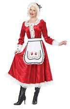 Classic Mrs Santa Claus Christmas Adult Costume