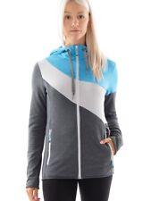 CMP Giacca tempo libero Giacca Hoodie Blu Traspirante Stretch Zipper