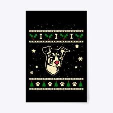 "Christmas Brazilian Terrier Gift Poster - 24""x36"""