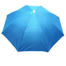 Outdoor Foldable Sun Umbrella Hat Golf Fishing Camping Headwear Cap Head Hat