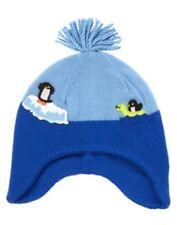 GYMBOREE SNOW PALS BLUE POLAR SCENIC SWEATER TRAPPER HAT 0 12 24 2T 3T 4T 5T NWT