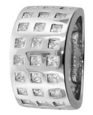 trendor Accessori Anello in argento zirconi 67162