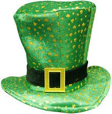 Déguisement Jour De St Patrick Irlandais Irlande Eire Chapeau Haut-de-forme Vert