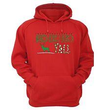 Ho Ho ho Y'all - UGLY CHRISTMAS Sweater Men Women HOODIE Red