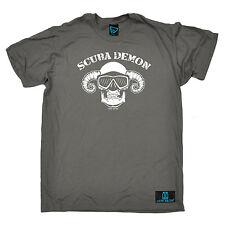 Scuba Diver demonio T-Shirt Tee equipos de submarinismo Buceo Engranaje divertido Regalo Padres Día
