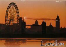 "LONDON ENGLAND (UK) FRIDGE COLLECTOR'S SOUVENIR MAGNET 2.5"" X 3.5"""