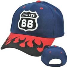 Historic Route 66 One Size Fit Hat Cap - Multiple Colors