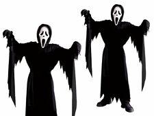 Child Scream Costume Offical Licensed Halloween Horror Fancy Dress + Mask