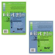 GRAFIX FRISKET FILM  All-Purpose Masking Film - A4 - 6 Sheets (Clear & Matte)