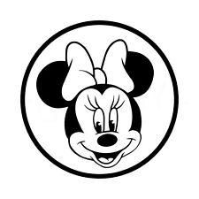 Enfant à bord-Voiture Fenêtre Autocollant-Mickey Minnie Mouse idée cadeau Decal-V01