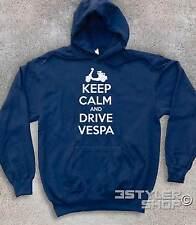 FELPA UNISEX KEEP CALM AND DRIVE VESPA vespa mods style Who target carry on