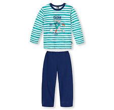SCHIESSER Jungen Kinder Schlafanzug Pyjama lang 104 116 128 140 Nachtwäsche
