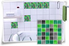 Fliesenaufkleber Fliesenbild Fliesen Aufkleber Fliesenimitat Mosaik Grün