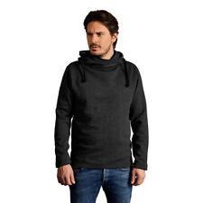 Men's Crossover Hoodie Cosy Hooded Sweatshirt PROMODORO