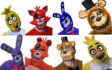 Five Nights At Freddy's Mask (Choose Your Mask) Fazbear Bear FNAF Horror Game