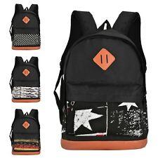 Casual Patterned Student Men Women Backpack School Bag
