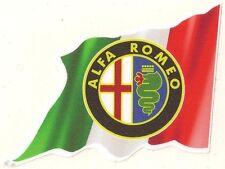 ALFA ROMEO right flag sticker droit