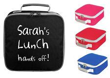 Personnalisé Sac à Lunch Cooler Box votre nom École Travail Bureau professeur drôle