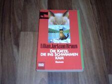 Lilian Jackson Braun -- die KATZE, die ins SCHWIMMEN KAM / 1 Fall für Kater Koko