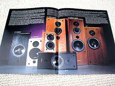 Axiom Ax series speaker full product line brochure