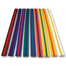 Playwell Striped Coloured Grading Belts 280CM Karate Judo Taekwondo Martial Arts