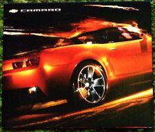 2007 Chevrolet Camaro Concept Convertible Brochure 07