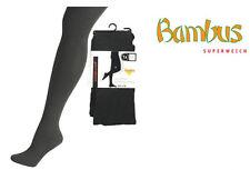 "1 Paar Strumpfhose ""BAMBUS"" Hochwertige dehnfähige- 200-Nadel-Qualität CH-2709"
