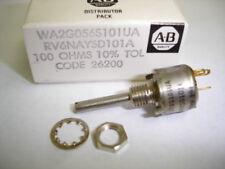 Allen Bradley RV6NAYSD101A 100 OHM 10% TOL Variable POT