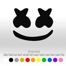 "5"" Marshmello EDM KWS kamoji Die Cut Bumper Car Window Vinyl Decal sticker"
