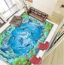 3D Océan 18 Fond d'écran étage Peint en Autocollant Murale Plafond Chambre Art