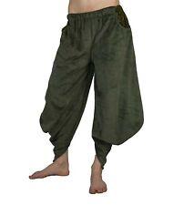 Sarouel Haremshose Pluderhose aus Samt Aladinhose Goa Hippie Boho