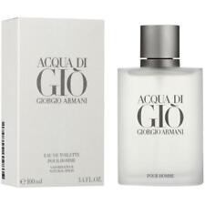 Acqua Di Gio Cologne by Giorgio Armani, 3.4 oz EDT Spray for Men NEW