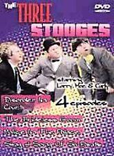 Three Stooges - 4 Episodes (DVD, 2000)