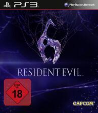 PS3 / Sony Playstation 3 Spiel - Resident Evil 6 (mit OVP)(USK18)