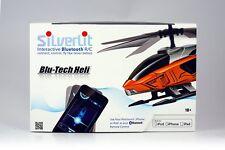 Helicoptère Bluetooth Silverlit iPhone iPad iPod 3 Couleurs Bleu Blanc T de feu