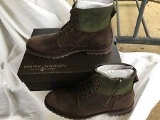 NIB Mark Nason Skechers Briggs Lace-Up Memory Foam Boot Brown Size 9.5-12M