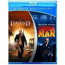 I Am Legend/Omega Man (Blu-ray Disc, 2011, 2-Disc Set) Will Smith Charlto Heston