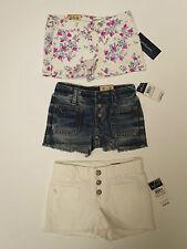 Ragazze Pantaloncini Jeans in denim ex designer Età 2 3 4 5 6 7 8 9 10 11 12 13 14 anni