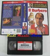 VHS ADRIANO CELENTANO IL BURBERO CECCHI GORI DEBRA FEUER 1986 no dvd cd (VM9*)