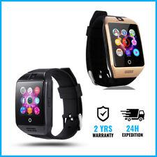 Original Q18 Smart Watch Montre Horloge Bluetooth Android iOS BLACK / GOLD