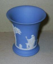 Wedgwood Jasperware Blue Posy Vase
