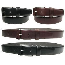 Vitali Designer Mens Italian Leather Trouser Suit Belt 35mm Made in Italy 3915