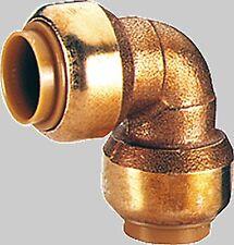 Tectite Steckfitting für Kupferrohre Winkel 90° i/i D:12mm -  28mm zur Wahl