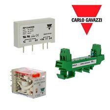 Carlo Gavazzi RP1A40D5 Relay, RPM1P SOCKET, RMI A 4 5  230V Relay