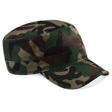 Beechfield: Herren Camouflage Army Cap, modische Military-Form, Klett * B33 NEU