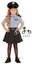 Karneval Klamotten Kostüm Polizistin Sandra Mädchen Polizei Mädchenkostüm